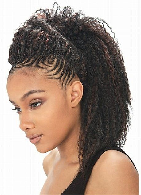 Crochet Braid Hairstyles With Updo For Black Women Tresses