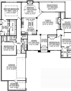 story bedroom french country house plan plans floor also rh uk pinterest