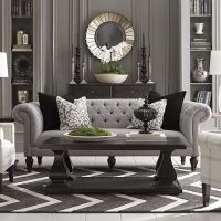 Chesterfield Sofa And Chairs A Nashville House With An Old ...