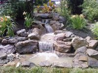 Pondless Waterfall Build   Pond water features, Water ...