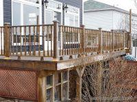 How to build Deck Railings - Victorian Deck Design - Deck ...