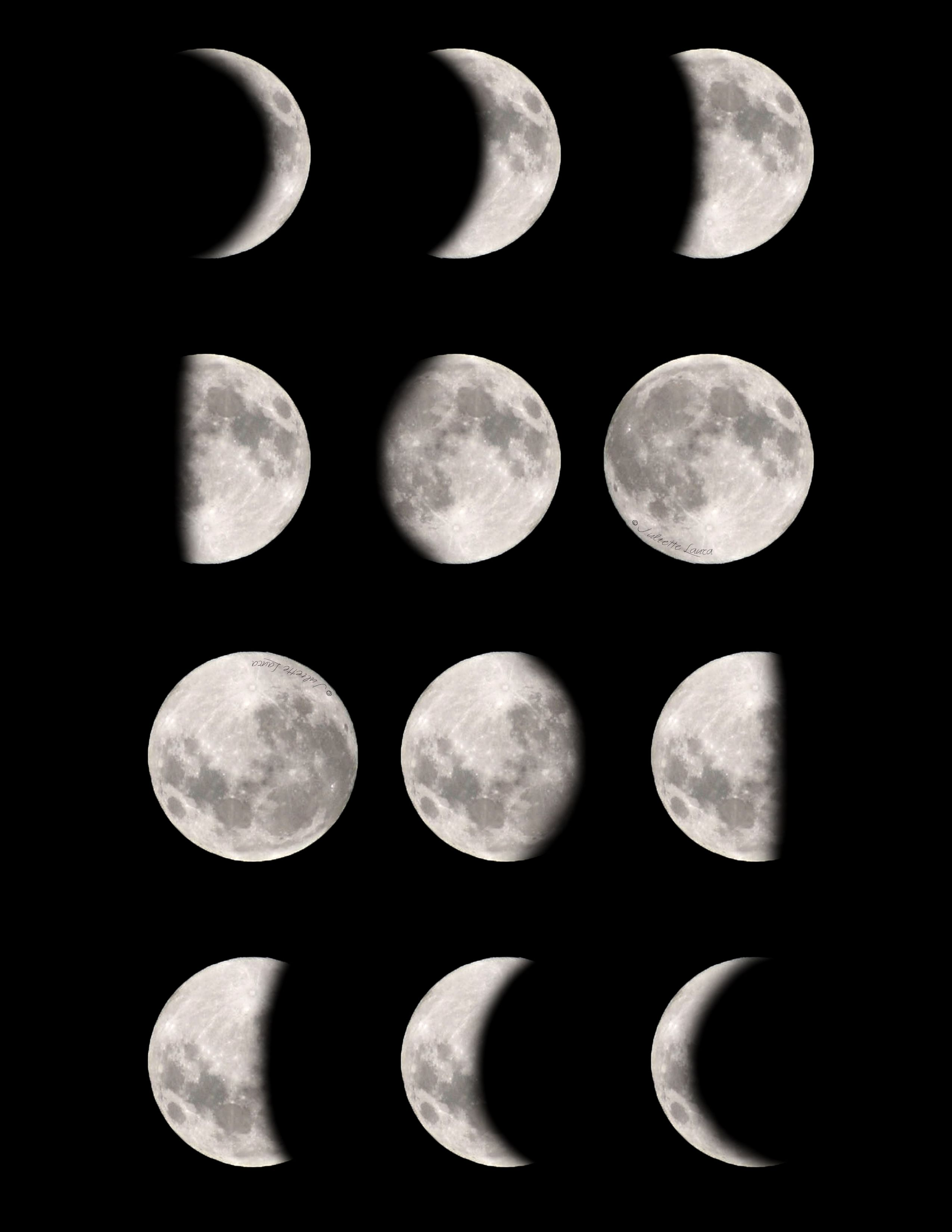 Moon Phases Free Downloadable Amp Printable