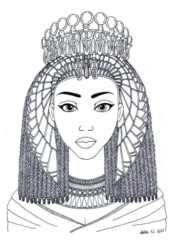 Queen Tiye by hellenielsen82.deviantart.com on @deviantART