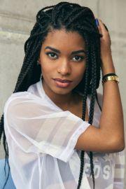 black girl braids