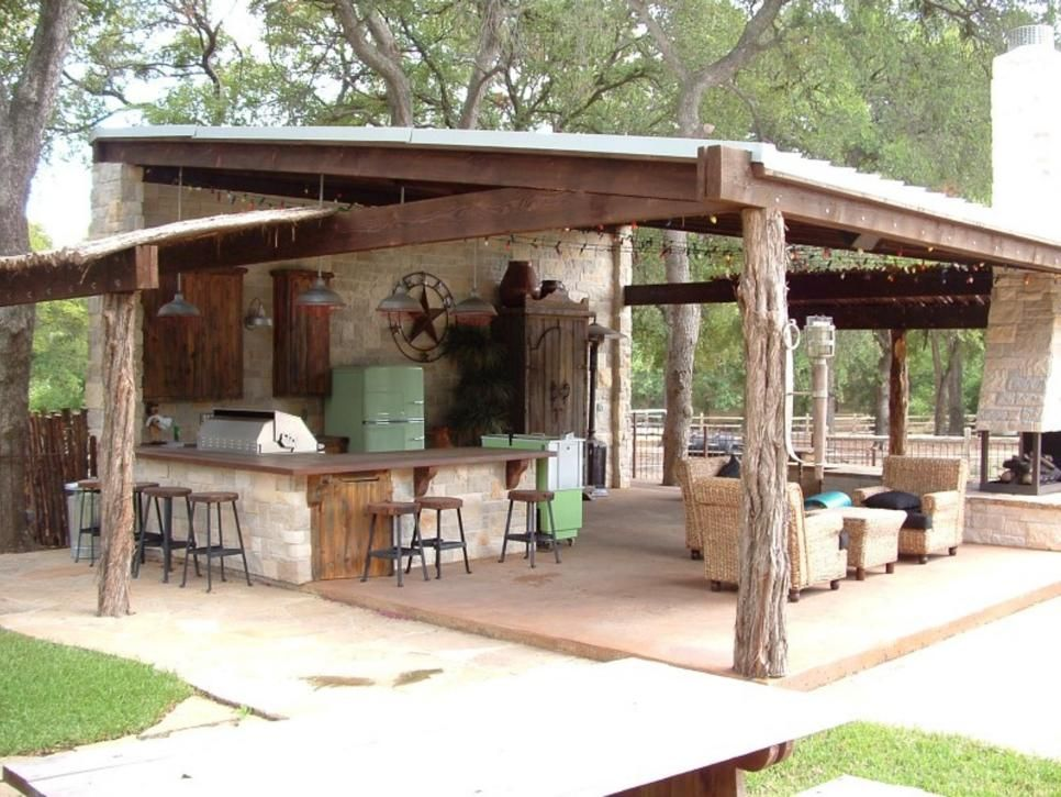 Outdoor Kitchens And Bars Gardens Include And Outdoor Living