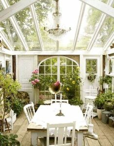 Outdoor entertainer area pinterest sunroom green houses and herbs also now this is  greenhouse rh
