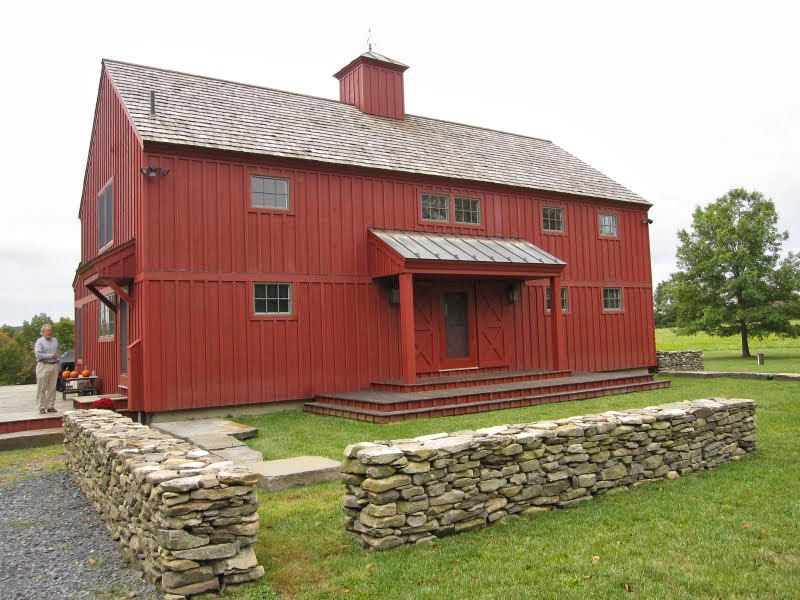Red Barn Garage Chatham New York Barn Style Red Home Home