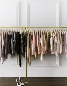 Best clothing rack ideas from the chicest shops also famous interior rh pinterest