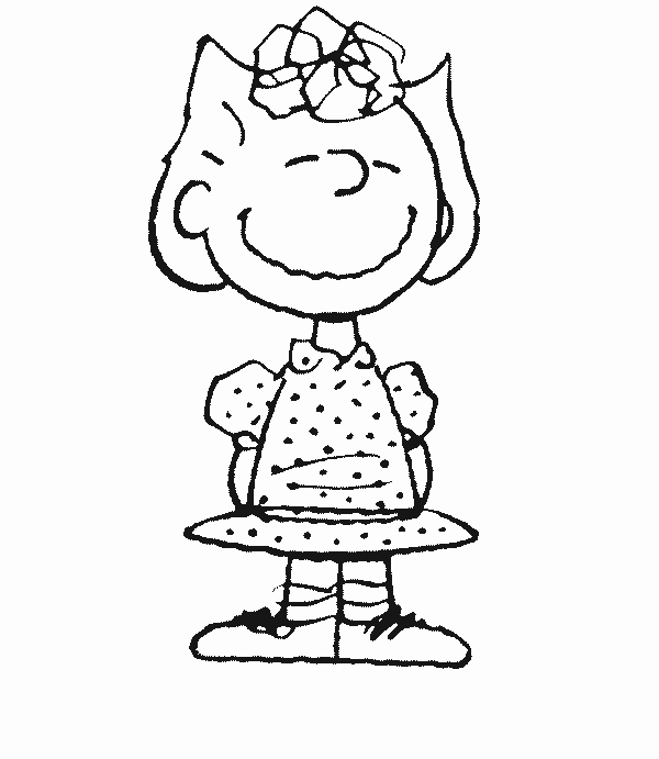 Coloring Pictures Charlie Brown Characters | Siewalls.co