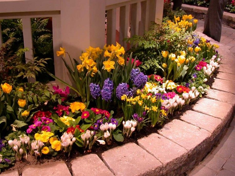 Tips To Get The Beauty Flower Bed Design Flower Bed Design Ideas