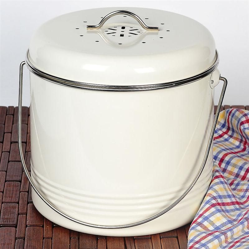 odor free kitchen compost pail kitchens pinterest