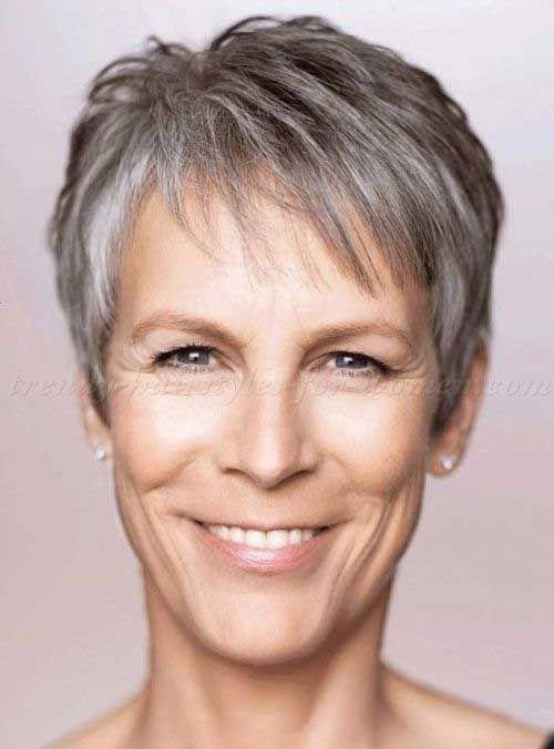 Pixie Haircut For Gray Hair Grey Hair Pinterest Short