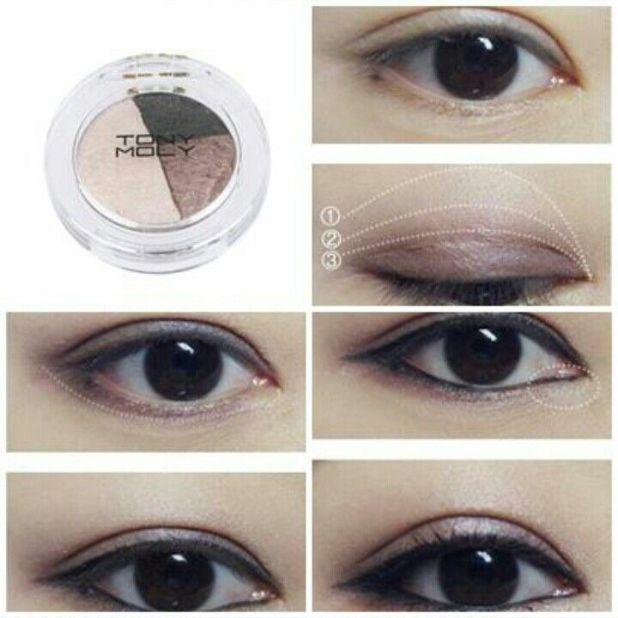 Korean Smokey Eye Makeup Tutorial Cartoonview