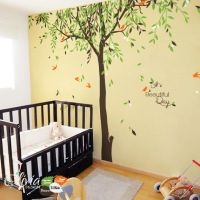 Large Baby nursery Willow Tree vinyl wall decal