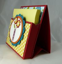 Post-It Note Holder | Paper Crafts | Pinterest | Note ...