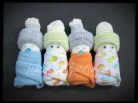 Diaper Babies - Set of 4 - Boy, Girl or Gender Neutral ...