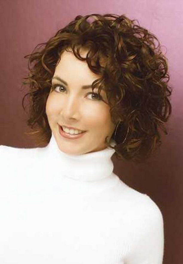 20 Hairstyles For Curly Frizzy Hair Womens For Women Wavy Hair