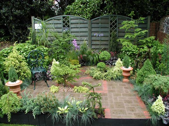 Tiny Courtyard Ideas Small Courtyard Gardens There's No Place