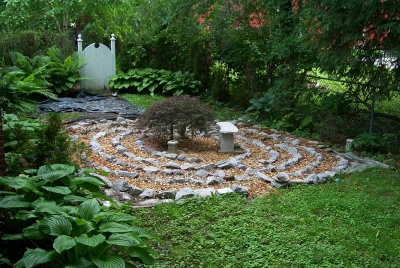 Simple Labyrinth Garden Designs Meditation Garden Design