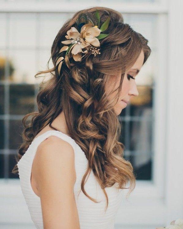 DIY Haarfrisur Für Die Hochzeit Nachmachen Pin Pin Pinterest