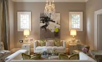 Kendall Wilkinson Design - living rooms - taupe walls ...