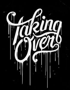 Taking over iphone wallpaper by marko purac lachie hewitt  drop of combined with black and white this makes the design very gloomy also typography font branding rh pinterest
