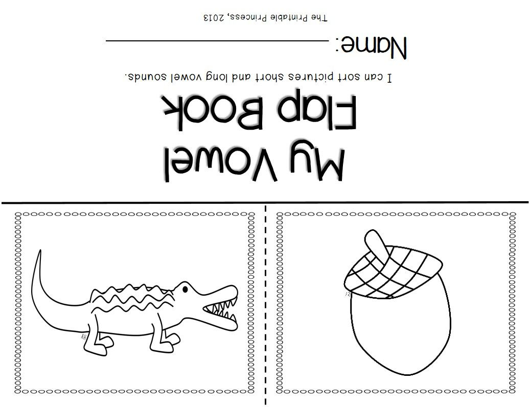 Short Vowels And Long Vowels Activities Pictures And Practice Pages