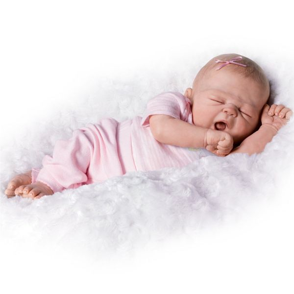 Ashton Drake Violet Parker Real Sleepy Girl
