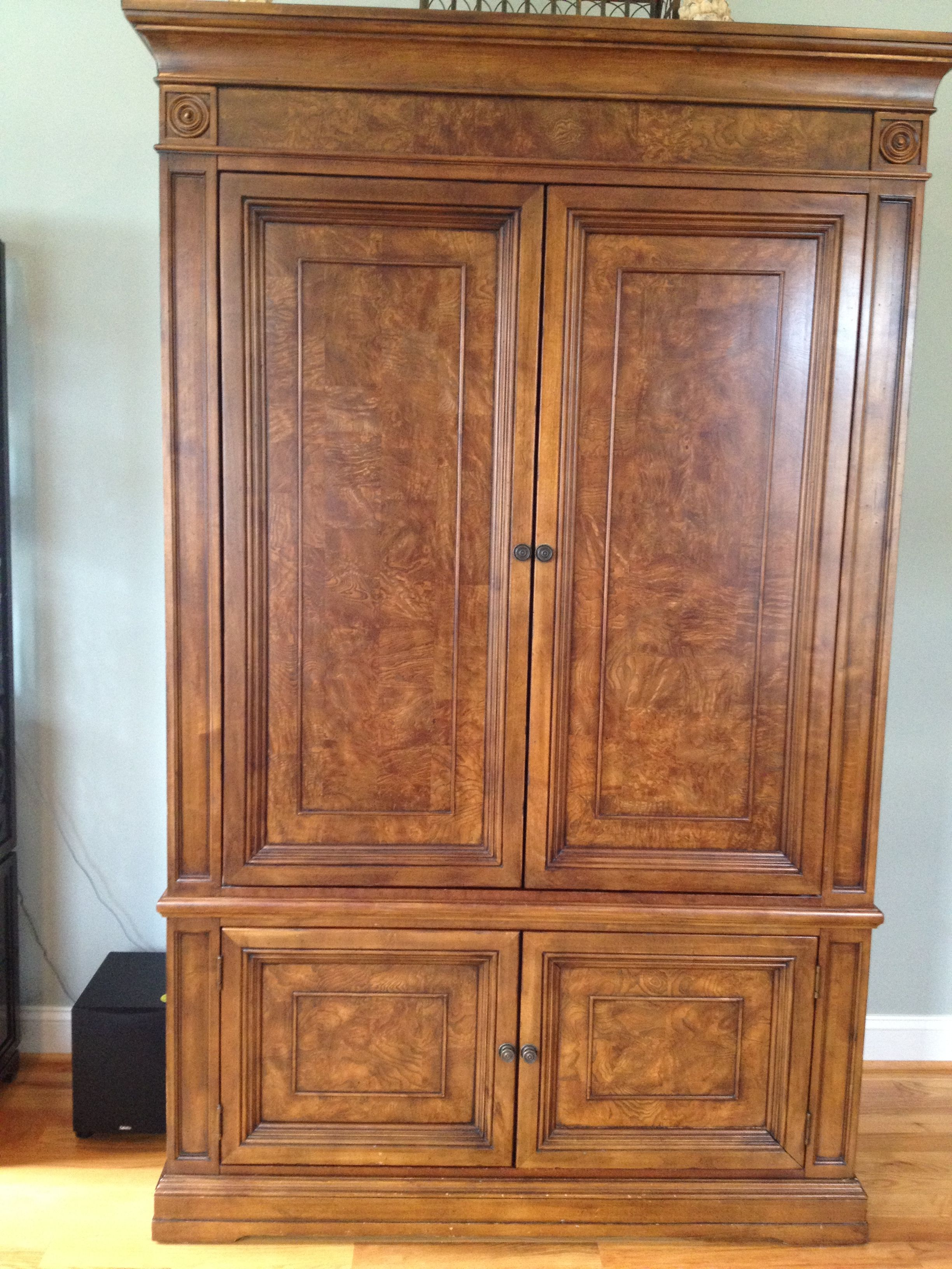 Ethan Allen Townhouse Entertainment Armoire Furniture I