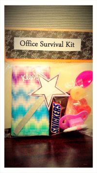 DIY Office Survival Kit | Wee Share Should make these for ...