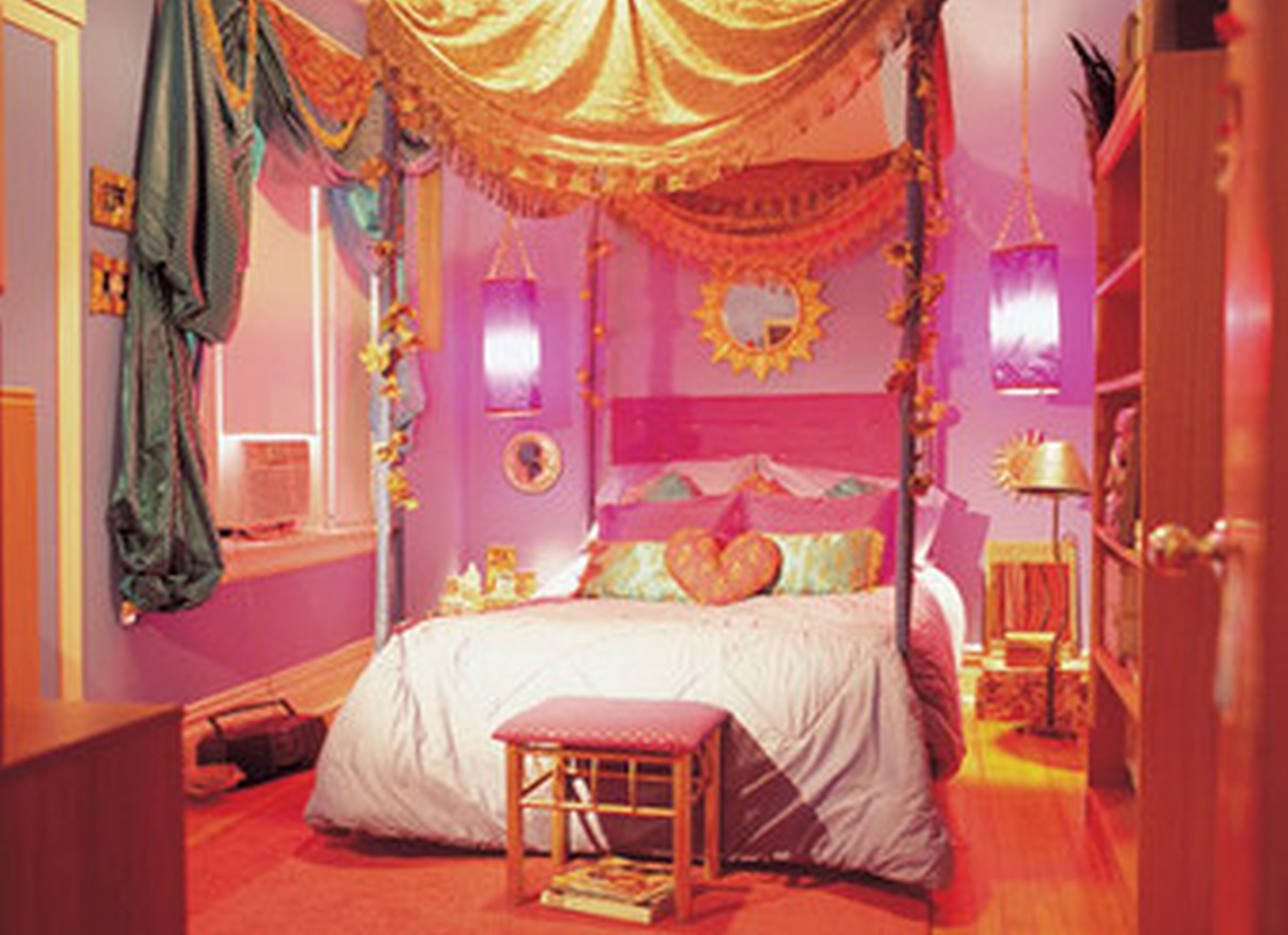 elegant girls canopy bed designs sets - http://katrinahousing