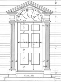 Neo-Classical Style ( Georgian 1720-1830) Door ...