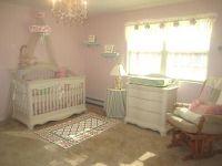 Baby Girl Nurseries on Pinterest