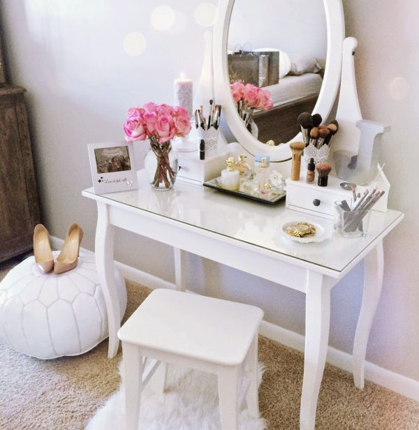 IKEA Vanity Table Idea