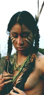 native american hair makeup