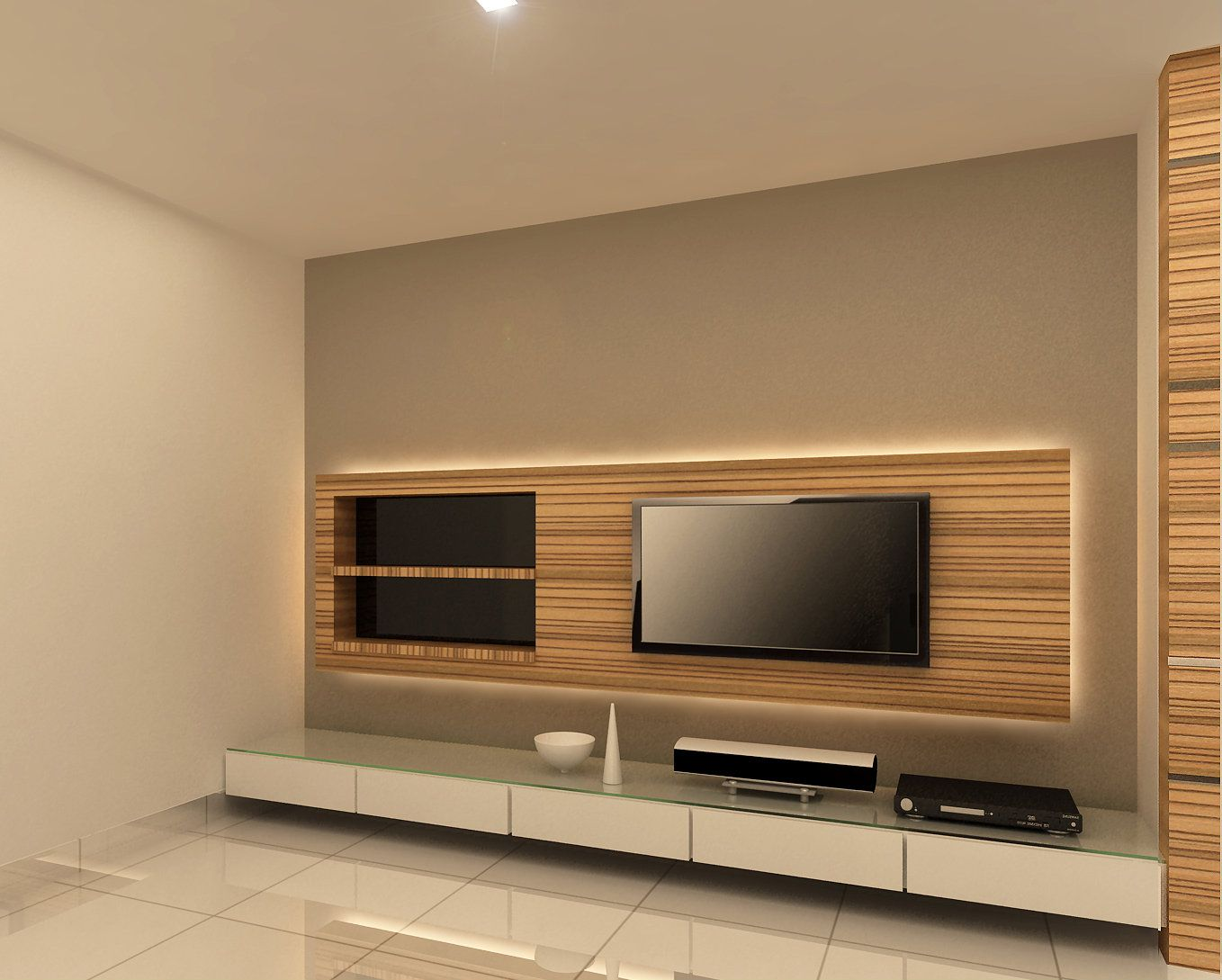 tv sofa how long leather last backlit console design family room pinterest