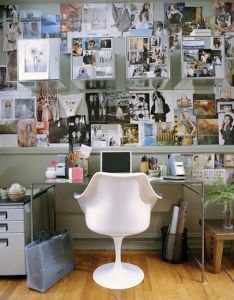 Home office decorating ideas for  small apartment all you need is little bit of space to get ton work done shop the decor see as your also cool  love when spaces are full stuff hate rh pinterest