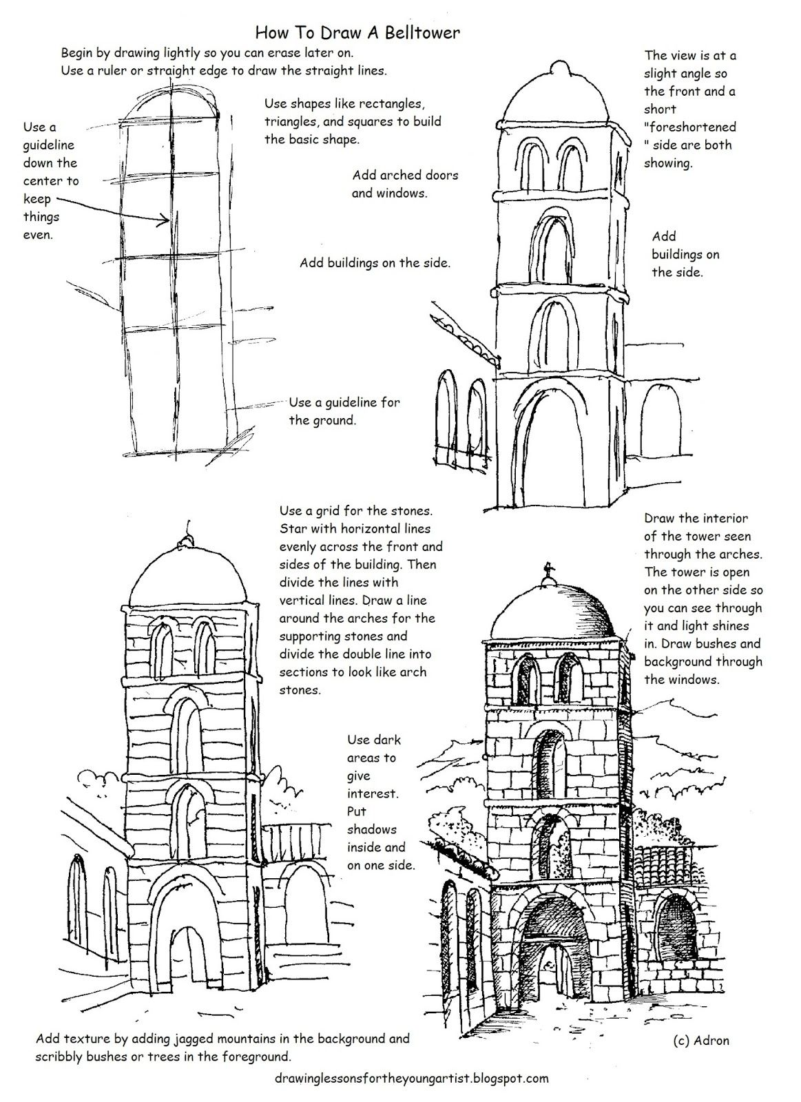 This Free Printable How To Draw Worksheet Is Helpful To