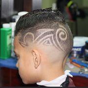 kids side hair tattoos