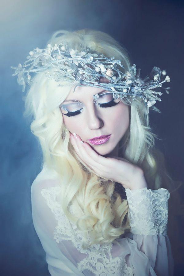 April Albaugh Winter Lasts Makeup Katrina King Model