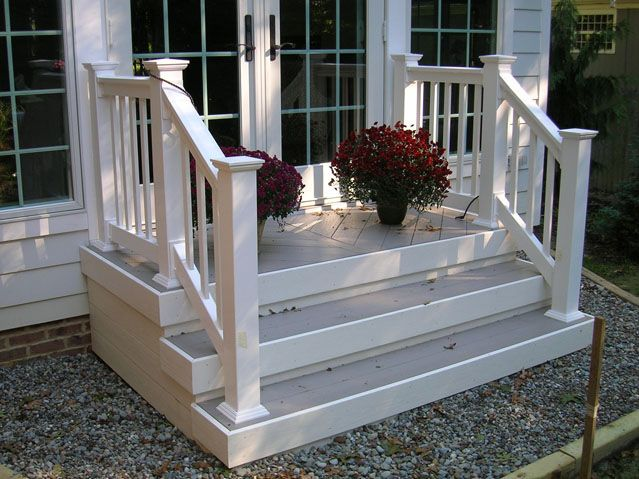 Explore Front Porch Railings Front Stairs And More