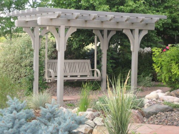 Pergola With Swing - Home Decor