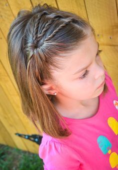 """25 Little Girl Hairstyles You Can Do YOURSELF! """"how To Make"""