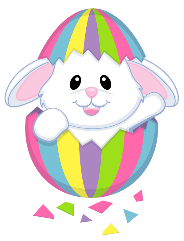 easter bunny - clipart