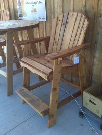 Tall Adirondack Chair #PinMyBackyard | My Dream Backyard ...