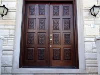 Carved Double Doors Design Ideas With Wooden Materials And ...