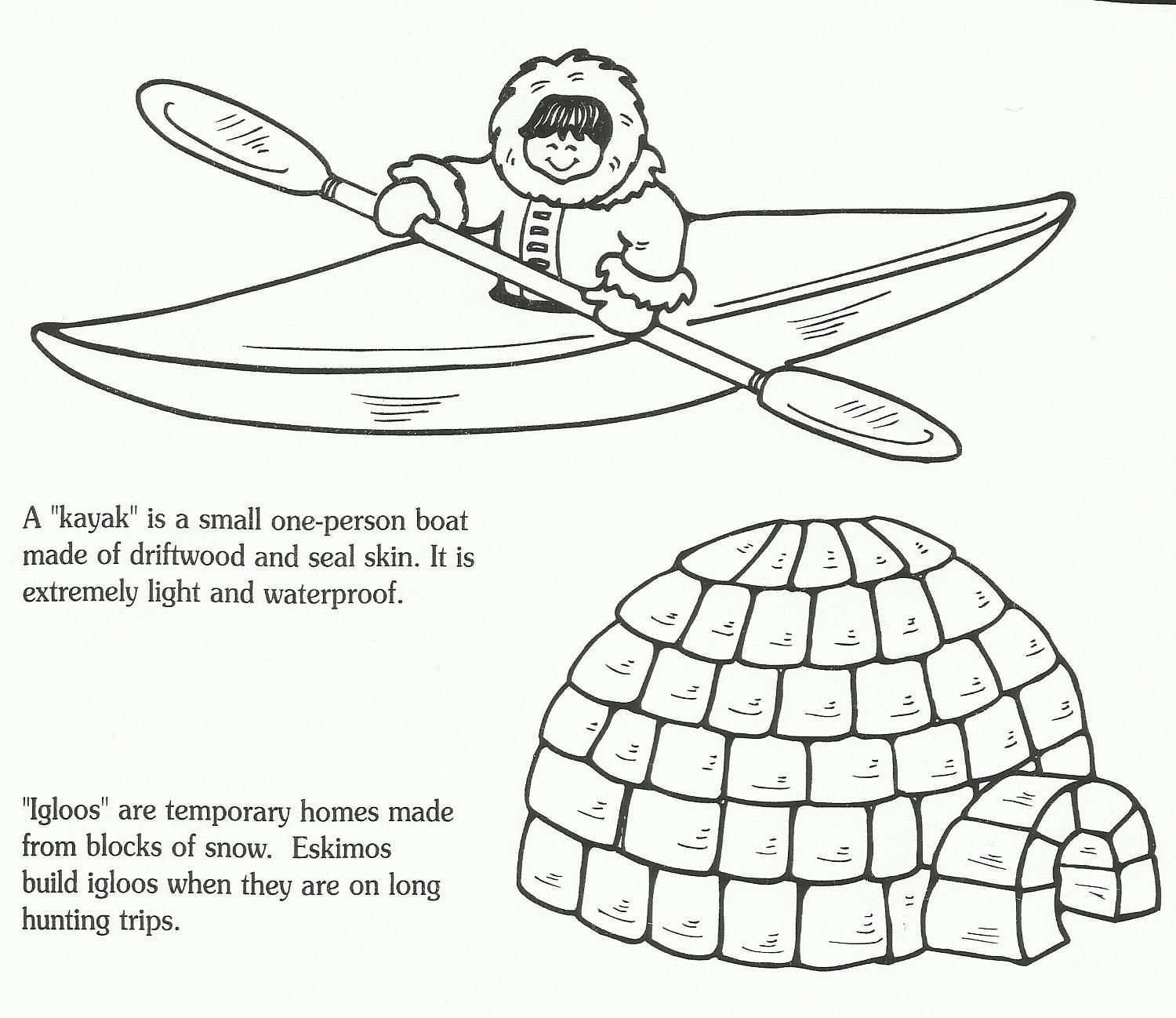 Igloo Math Worksheet