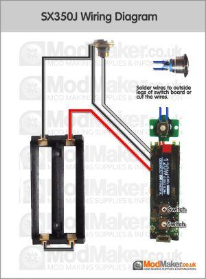 SX350J Wiring Diagram   vapesmods   Pinterest   Vape