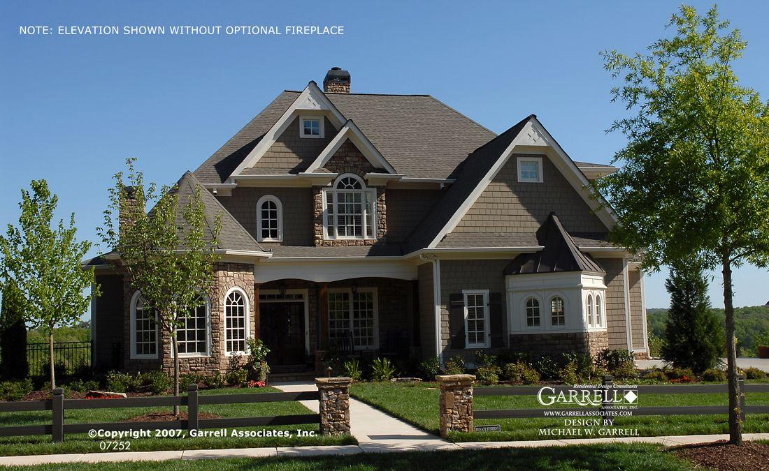 Garrell Associates Inc Heatherton House Plan # 07252 English