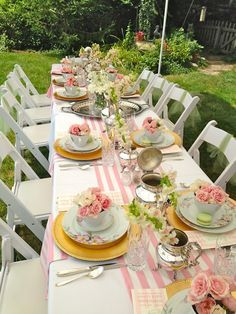 Garden Table Decoration Ideas Google Search Decorations In